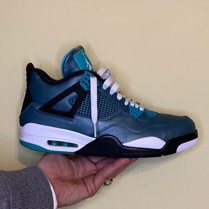 Jordan 4 Teal